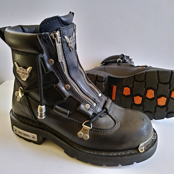 Harley Davidson Brake Light Motorcycle Boots